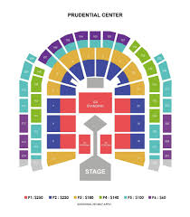 Bts Prudential Center Seating Chart