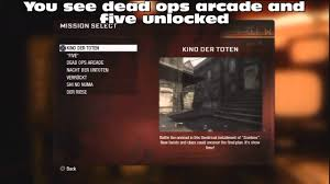 call of duty black ops tricks unlock all zombie ma  youtube