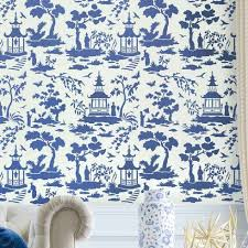 Small Picture Secret Garden Toile Stencil Beautiful Chinoiserie Stencils by
