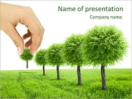 Tree Powerpoint Template Planting Trees Powerpoint Template Backgrounds Google Slides Id