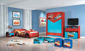 kids room decor ideas striking ideas with car bed and red wardrobe with blue wall features boy bedroom ideas rooms