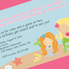party invite examples mermaid party invites cimvitation