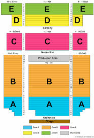 Nj Pac Seating Chart Bergen Performing Arts Center Seating Chart