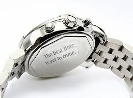 40 Short Messages to Get Engraved on Personalized Gifts Enchanting Watch Engraving Quotes