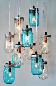 how to make a glass jar chandelier glass jar pendant lighting