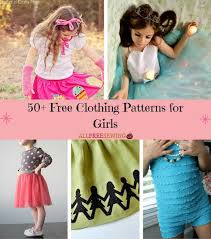 Dress Patterns For Toddlers New 48 Free Clothing Patterns For Girls AllFreeSewing