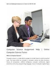 Hire us for instant help  Computer Science  History   Anthropology  Environmental Science Homework Help    English Homework Help     Economics Homework Help      Homeworkhelps net