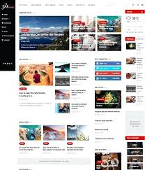 News Themes Templates Free Premium Newspaper Theme Template