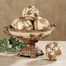 Decorative Bowl With Orbs Decorating Wonderful And Decorative Orbs For Home Especially For 2