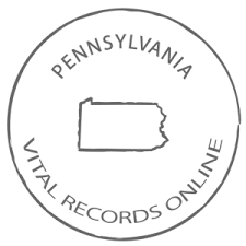 Official Pennsylvania Birth Certificate Birth Records Copy