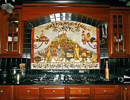 Mural Tiles For Kitchen Decor Kitchen Mural Ideas Best Mural Ideas On Wall With Decorations 13