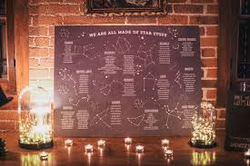Galaxy Seating Chart Green Wedding Shoes