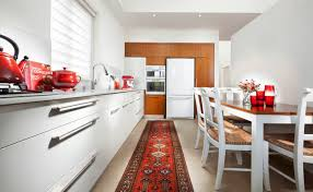 Red Rugs For Kitchen Put The Persian Style Rug In The Kitchen It Will Give A Different