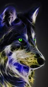 Cool Wolf iPhone Wallpaper Design ...