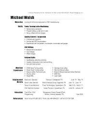 Machinist Resume Template Enchanting Machinist Resume Template Gyomorgyuru