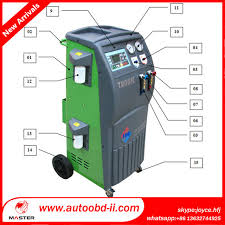 air conditioning machine for cars. auto a/c recovery \u0026 recharge machine mst-680+ car air conditioning for cars
