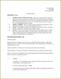 010 Informal Essay Outline Formal Thatsnotus