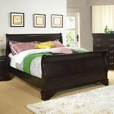 Sleigh Bedroom Furniture Shop Furniture Of America Laurelle Espresso King Sleigh Bed At