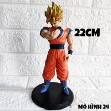RẺ VÔ ĐỊCH] Mô hình cao cấp Son Goku super saiyan ÔM VAI [20cm] Dragonball 7  viên ngọc rồng figure đồ chơi Dragon Ball tại Hà Nội