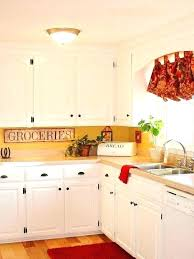 yellow country kitchens. Delighful Country Yellow Kitchen Accents And Red Kitchens Image  Country   And Yellow Country Kitchens