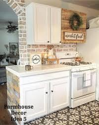 small farmhouse kitchen decorating idea clutter free farmhouse decor ideas farmhousedecorating rusticfarmhouse