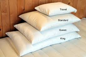 king pillows on queen bed.  Bed Our Clearance Wool Bed Pillows Are Available In Four Sizes And King Pillows On Queen Bed O