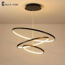circle chandelier