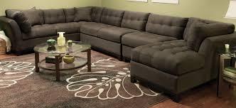 cindy crawford home metropolis 4 pc microfiber sectional sofa