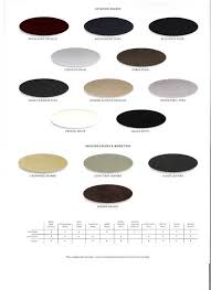 Brochure W Color Chart Clublexus Lexus Forum Discussion