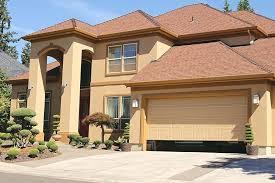 manually open garage door house with garage door half open can you manually open garage door with broken spring