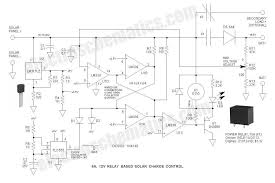 6a, 12v relay solar charge control 12v relay wiring 6a, 12v relay solar charge control circuit schematic