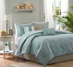 Carmel by the Sea Blue Comforter Set - King Size