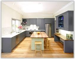 light grey wood floor kitchen nisartmacka