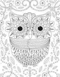big e owl coloring page