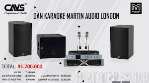 Âm thanh chính hãng Dàn Karaoke Loa Karaoke Amply Karaoke Micro Sub