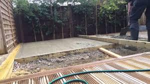 Concrete Cabin Log Cabin Concrete Slab Youtube