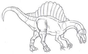 Small Picture Trend Spinosaurus Coloring Pages 42 On Free Colouring Pages With