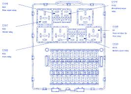 ford focus zxw 2008 central top fuse box block circuit breaker ford focus zxw 2008 central top fuse box block circuit breaker diagram