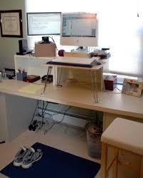 standing desk imac. Brilliant Imac A Lowcost Approach Inside Standing Desk Imac L