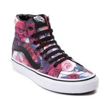vans galaxy. vans sk8 hi galaxy rose skate shoe