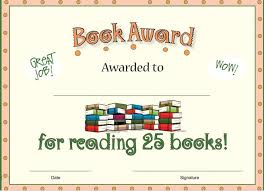 best accelerated reader images school   wonderful reading award for students who have 25 books