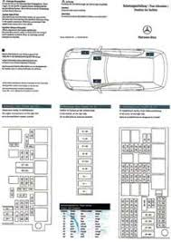 Solved Diagram Fusebox For A 2008 Mercedes 350ml My