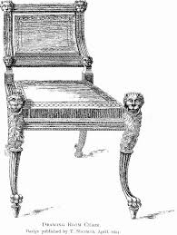chair design drawing. File:Drawing Room Chair, Designed By Sheraton.jpg Chair Design Drawing