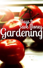 Easy ways to save money on your garden. If you want to have a ...