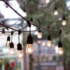 Heavy Duty String Lights Us 38 64 25 Off Waterproof Heavy Duty 15m Outdoor Edison Bulb String Lights Connectable Festoon For Party Garden Christmas Holiday Garland Cafe In