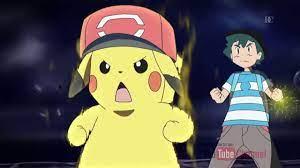 Ash and Pikachu Z move 10,000,00 VOLT THUNDERBOLT - YouTube