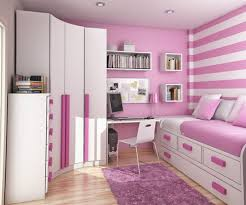 Single Beds For Small Bedrooms Extraordinary Pink Themes Teen Small Bedroom With Single Bed