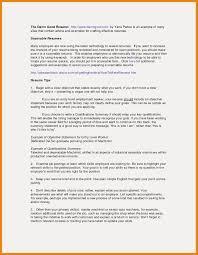 Customer Service Resume Sample Fresh Summary Qualifications Resume