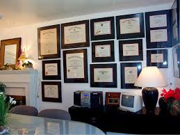 office wall frames. wall of diplomas google search office frames g
