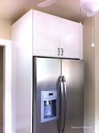 sweet extraordinary kitchen fridge cabinet lately if it s possible for a kitchen to make one